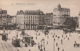 Bruxelles , Place Rogier, ( Tram , Tramway ) ( Henri Georges ,n° 285 ) - Prachtstraßen, Boulevards