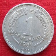 Chile 1 Centesimo 1962 KM# 189 Chili - Chili