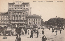 Bruxelles , Place Rogier , Le Palace Hotel , ( Tram , Tramway  , Auto) ( Henri Georges ,n° 4423 ) - Prachtstraßen, Boulevards