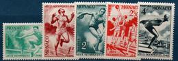 MON 1948  Jeux Olympiques De Londres  N° YT 319-323  ** MNH - Neufs