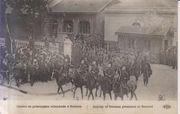 Convoi De Prisonniers Allemands  A Roanne  Carte Postale Animee Guerre 1914-1918 - War 1914-18