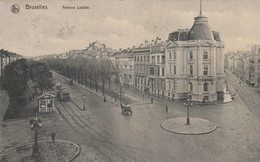 Bruxelles ,  Avenue Louise ,( Tram Tramway  ) - Prachtstraßen, Boulevards