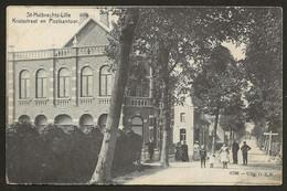 St Huibrechts-Lille : Kruisstraat En Postkantoor (Uitg. G.S.P) ; Sterstempel Relais Lille-St Hubert 9/81909 Naar Hasselt - Neerpelt