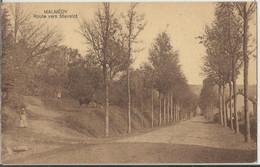 Malmedy -  Route Vers Stavelot 1937 - Malmedy