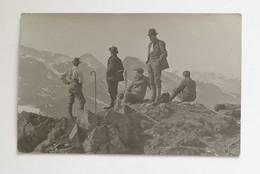 Cartolina Postale Soggetto Scalatori In Montagna, Viaggiata Per Bologna Via Amb. Torino-Piacenza 1913 - Fotografie