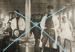 Photox2 DE PANNE Hôpital De L'Océan 1914-18 ABL Belgische Leger 1916 Caporal Français Swerts 5ème DA Génie WO1 - Krieg, Militär