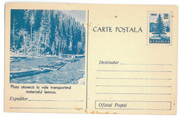 IP 56 - 20c RAFTS And Forest - Stationery - Unused - 1956 - Postwaardestukken