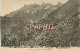 CPA Environs De Luchon Route Du Lac Vert Massif De Boum Pic De Boum (3060 M) - Luchon