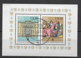 BLOC DDR Oblitéré 1986  MICHEL  :  85 - Bloques