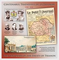 Roemenië / Romania - Postfris / MNH - Sheet Vredesverdrag Van Parijs 2020 - Ongebruikt