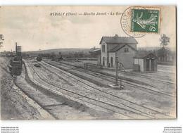 CPA 18 Neuilly Moulin Jamet La Gare - Andere Gemeenten