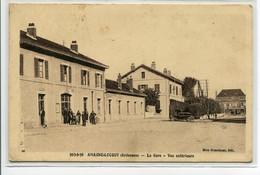 08 AMAGNE LUCQUY La Gare Des Voyageurs Place Automobile écrite En 1939   D24 2018 - Otros Municipios