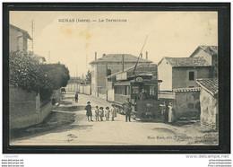 CPA 69 Genas Le Terminus Et Le Tramway - Otros Municipios