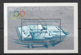 BLOC DDR Oblitéré 1983 MICHEL : 74 - Bloques