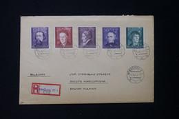 POLOGNE / ALLEMAGNE - Enveloppe En Recommandé De Warschau Pour Pulawy En 1942 - L 84115 - Gobierno General