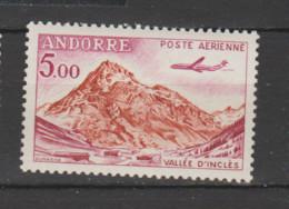 """ANDORRE  Aérien 1961  N °7 Neuf XX  """"avion Caravelle"""" - Poste Aérienne"""
