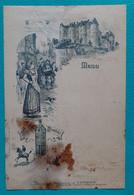 Ancien Menu Luynes Combier - Ancienne Maison BREGER & JAVAL - J. NETIRE Paris - Menu