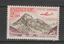 """ANDORRE  Aérien 1961  N °5 Neuf XX  """"avion Caravelle"""" - Poste Aérienne"""