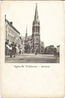 ANVERS-ANTWERPEN - Eglise St. Willibrord - Carte Précurseur N'ayant Pas Circulé - Antwerpen