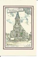 Carte De Voeux  8.5x13 N°69 359 Monsols Signé Yves Ducourtioux - NEUVE - Anno Nuovo