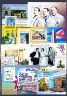 CUBA  (VERZ136)   10 MINT SHEETS - Collections (without Album)