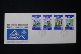 NOUVELLE HÉBRIDES - Enveloppe FDC En 1975 - Scoutisme - L 84129 - FDC