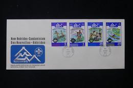 NOUVELLE HÉBRIDES - Enveloppe FDC En 1975 - Scoutisme - L 84130 - FDC