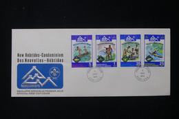 NOUVELLE HÉBRIDES - Enveloppe FDC En 1975 - Scoutisme - L 84131 - Brieven En Documenten