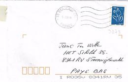 TP N° 3973 Seul  Sur Enveloppe De Bordeaux CTC - 1961-....