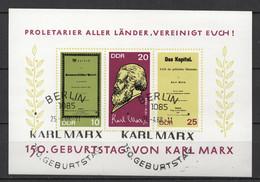 BLOC DDR Oblitéré 1968  MICHEL : 27 - Bloques