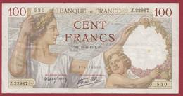 "100 Francs ""Sully"" Du 19/06/1941.S.V------ALPH .P.22967-------DANS L ETAT - 100 F 1939-1942 ''Sully''"