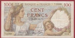 "100 Francs ""Sully"" Du 19/06/1941.U.G------ALPH .P.22999-------DANS L ETAT - 100 F 1939-1942 ''Sully''"