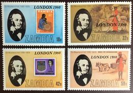 Zambia 1980 London '80 MNH - Zambia (1965-...)