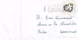 TP N° 3997 Seul  Sur Enveloppe De Amou Les Avignon - 1961-....