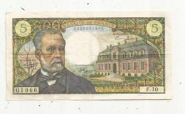Billet , France , 5-5-1966 , CINQ FRANCS ,5 Francs , 2 Scans, VICTOR HUGO - 5 NF 1959-1965 ''Victor Hugo''