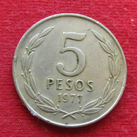 Chile 5 Pesos 1977 KM# 209 Chili - Chili