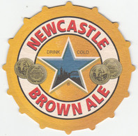 BEERMAT - NEWCASTLE BREWERIES (NEWCASTLE UPON TYNE, ENGLAND) - NEWCASTLE BROWN ALE - (Cat No 203) - (2005) - Portavasos