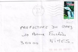 TP N° 4015 Seul  Sur Enveloppe De Quissac - 1961-....