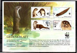 DDR  Document  FDC    WWF  Panda  Loutre - Altri