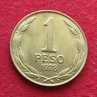 Chile 1 Peso 1978 KM# 208a *V2 Chili - Chili