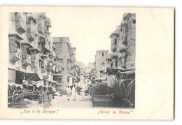 CPA Rue De La Mecque - Saudi Arabia