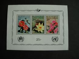 Belgique BF 47.**. Fleurs: Camélia - Nénuphar - Azalée. - Blocks & Sheetlets 1962-....