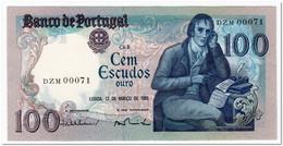 PORTUGAL,100 ESCUDOS,1985,P.178d,LOW SERIAL 00071,UNC - Portugal