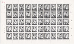 924 - XX - 1F50 BAUDOUIN LUNETTES - PL 3 - DD 18 II 72 - Et Ses Var 17-36-46-53-55 - Full Sheets