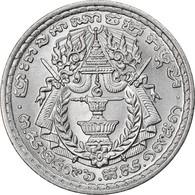 Monnaie, Cambodge, 50 Sen, 1959, SPL+, Aluminium, KM:56 - Cambodia