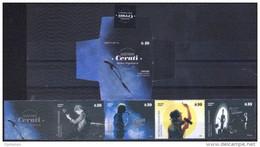 ARGENTINA: Música - Leyendas Del Rock Argentino / Gustavo Cerati (2015) MNH Booklet / Carnet Nuevo - Booklets