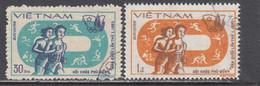 Vietnam 1983 - (2) Asian Games, New Delhi, Mi-nr. 1369/70, Used - Vietnam