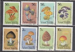 Vietnam 1983 - Mushrooms, Mi-Nr. 1371/78, Used - Vietnam
