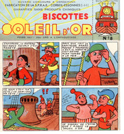 Buvard : Soleil D'Or : Biscottes N°8 - Biscotti
