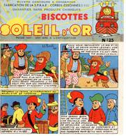Buvard : Soleil D'Or : Biscottes N°23 - Biscotti